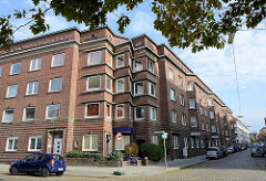 Expressionistische Wohnanlage, Spar-  und Bauverein Lehe / Bremerhaven, erbaut 1929 - Architekt Ernst Cappelmann.