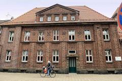 Das unter Denkmalschutz stehende Gerichtsgefängnis beim Amtsgericht Bremerhaven / Nordstraße.