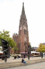 Bürgermeister-Smidt-Gedächtniskirche in Bremerhaven; ursprünglich erbaut 1855.  Neugotisches dreischiffiges Bauwerk.