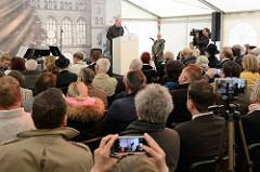 Rede von Hamburgs Erstem Bürgermeister Olaf  Scholz.
