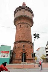 Wasserturm an der Mühle in Bremerhaven, erbaut 1891.