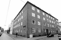Wohnblock - Gemeinnütziger Bauverein Geestemünde / Bremerhaven, erbaut 1928.