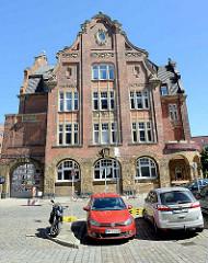 Hamburger Feuerwache Innenstadt, erbaut 1909 - Architekt Albert Erbe.