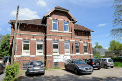 Altes Schulgebäude - unter Denkmalschutz stehend - in der Graumanntwiete von Hamburg Ochsenwerder.