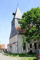 Stadtkirche St.-Johannis in Hitzacker, erstmals 1258 urkundlich erwähnt; nach Brand Wiederaufbau 1678.