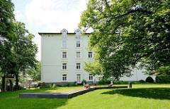 Grünanlage, Grillplatz am Harburger Schloss.