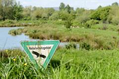 Das Naturschutzgebiet Die Reit in Hamburg Reitbrook hat eine Größe von 92 Hektar und liegt zwischen der Doveelbe und Gose-Elbe in Hamburg Reitbrook.