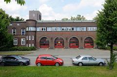Feuerwache Hamburg Veddel - erbaut 1928, Architekt der Baudirektor Fritz Schumacher.