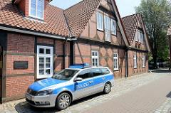 Polizeistation Hitzacker in der Brauhofstraße,