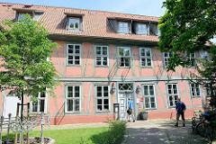 Rathaus / Touristen-Information, ehemaliges Königliches Amtshaus in Hitzacker / Elbe.