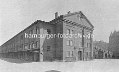 Historische Architektur Hamburgs - Gebäude vom Central Schlachthof an der Sternschanze.