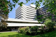 Architekturgeschichte in Hamburg - Denkmalschutz in der City Nord; Gebäude Allianz.