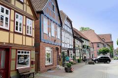 Die gesamte historische Altstadt / Insel von Hitzacker ( Elbe) steht unter Denkmalschutz.