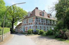 Pfarrhaus / Pastorat in Hamburg Ochsenwerder, erbaut 1634; 1742 grundlegend erneuert.