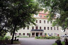 Schloß Gröba / Riesa; barockes Herrenhaus - jetzt Seniorenresidenz / betreutes Wohnen.