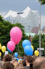 Domonstration Hamburg zeigt Haltung / St. Katharinenkirche - zweite Demonstration wg. des G20 Gipfels in Hamburg.