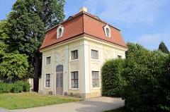 Wachhaus am Schloss Moritzburg - jetzt als Ferienwohnung buchbar.