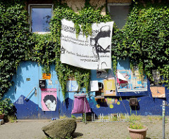 Transparent im Hamburger Schanzenviertel - Nähe der Messehallen.