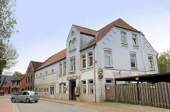 Gebäude der Gaststätte Adler in der Straße Landrecht in Wilster.