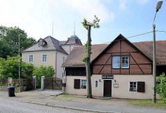 Käthe-Kollwitz-Haus in Moritzburg - letzter Wohnsitz der Künstlerin bis 1945.