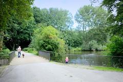 Fotos aus dem Hamburger Stadtteil Billstedt, Glinder Au - Nebenfluss der Bille.