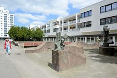 Fotos aus dem Hamburger Stadtteil Billstedt, Großsiedlung Mümmelmannsberg.