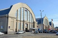 Hallen vom Zentralmarkt Riga - eingeweiht 1930; Teil von ehem. Luftschiffhallen / Zeppelinhallen.