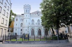 Neogotisches Gebäude der Kleinen Gilde / Sankt-Johannis-Gilde in Riga - Vereinigung der Rigaer Handwerkszünfte, die von 1352 bis 1936 bestand.