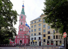 Russisch-Orthodoxe Kirche in Riga -