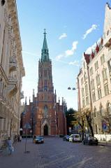 St. Gertrudenkirche in Riga; Umbau 1894.