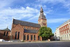 Rigaer Dom, ursprünglich  erbaut 1211 - Umbau Ende des 19. Jahrhundert.