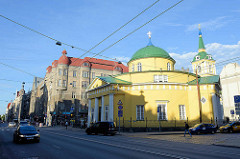 Alexander-Newski-Kirche in Riga - olzbau in Form einer Rotunde, 1820 bis 1825 nach Plänen von H. Breitkreuz erbaut.