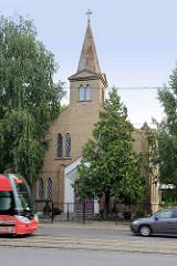 Lettische Methodistenkirche in Riga - Latvijas Apvienota metodistu.