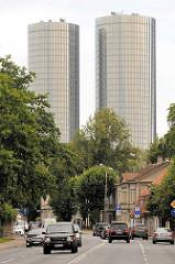 Z-Towers in Riga - Hochhäuser / Wohnhäuser; Architekten neben NRJA Tadao & Lukševics sowie Helmut Jahn.