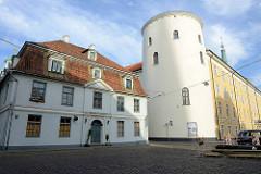 Rundturm am Rigaer Schloss; Heilig-Geist-Turm, erbaut Anfang 14. Jh.