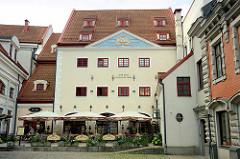 Altstadt Riga - die historischen Gebäude stehen seit 1997  auf der Liste des UNESCO-Weltkulturerbe.
