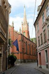 Anglikanische Kirche des Heiligen Erlösers in Riga; erbaut 1859, Architekt J. D. Felsko.