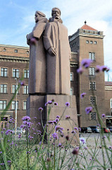 Denkmal der lettischen Schützen in Riga.