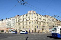 Wohnhäuser - Geschäftshäuser, Hauptstrasse in Riga.