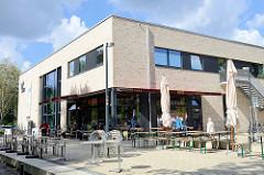 Gebäude Horner Freiheit - eröffnet 2016 in Hamburg Horn; Stadtteilhaus.