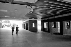 Tunnel / Unterführung beim S-Bahnhof Hamburg Eidelstedt.