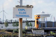 Ehemaliges CSPLO Elbe Terminal am Veringkais im Hamburger Baakenhaen (tschechoslowakische Schiffahrtsgesellschaft / ehem. Staatsreederei CSPLO)