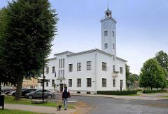 Rathaus von Fellin / Viljandi, Estland.