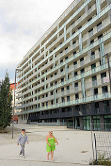 Neubauten im Münzviertel / Hühnerposten in Hamburg Hammerbrook.