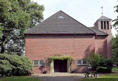 Stellinger Kirche in der Molkenbuhrstrasse, erbaut 1953.