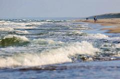 Wellen / Ostseewellen an der Kurischen Nehrung bei Nida.