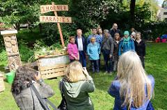 Bürgerbeteiligungsverfahren für Hamburgs längsten Park - Horner Paradiese ein Urban-Gardening-Projekt Am Gojenboom.