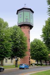 Alter Wasserturm von Fellin / Viljandi, Estland - erbaut 1911.