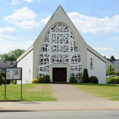 Neuapostolische Kirche in Stelle, Harburger Straße.