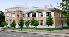 Gebäude - Sporthaus / Sporthalle in  Fellin / Viljandi, Estland.